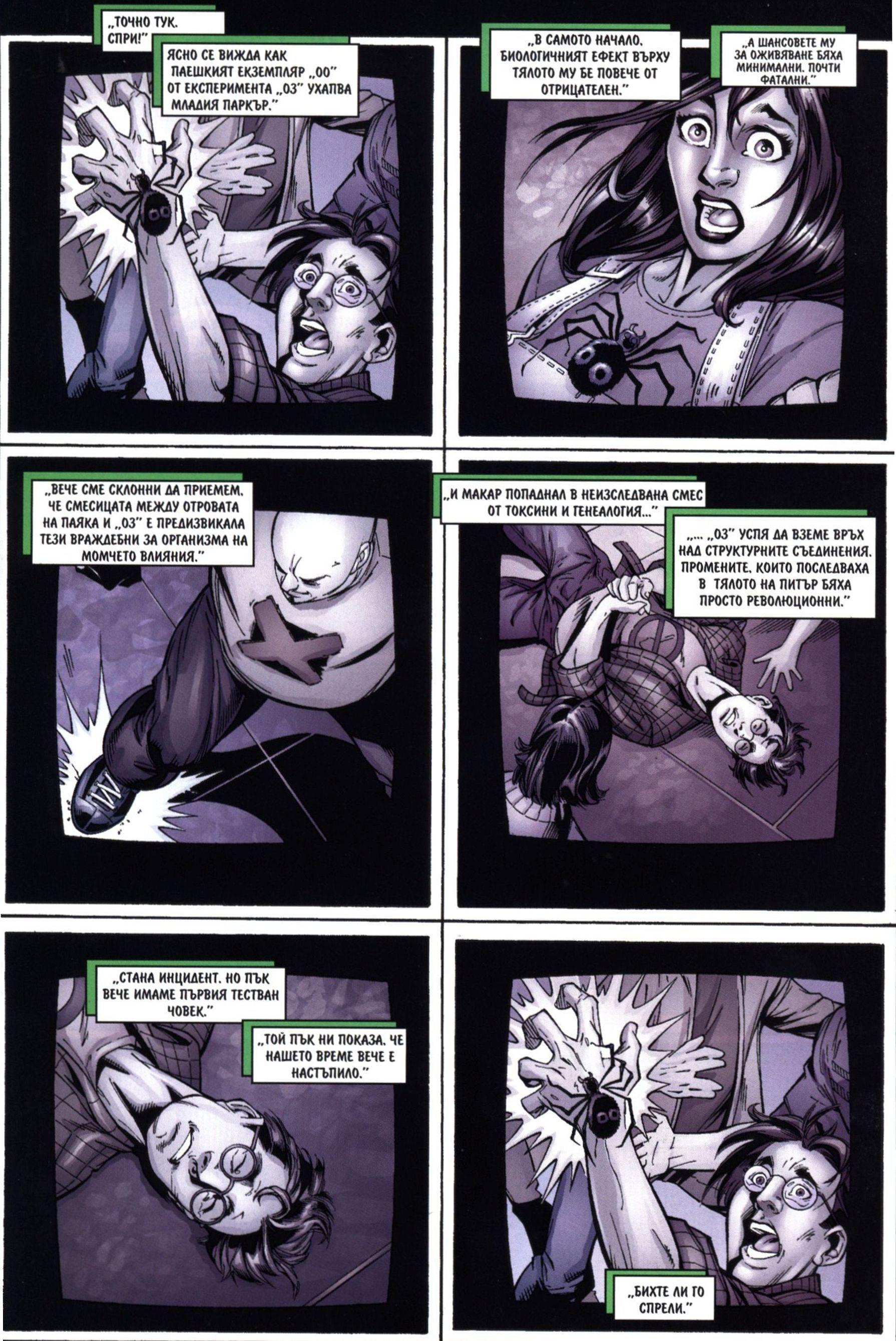 Най-новото от Спайдърмен (Брой 4 / Септември 2006):  Превъплъщения - 2