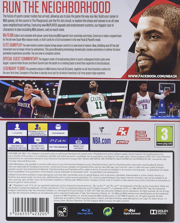 NBA 2K18 (PS4) - 3