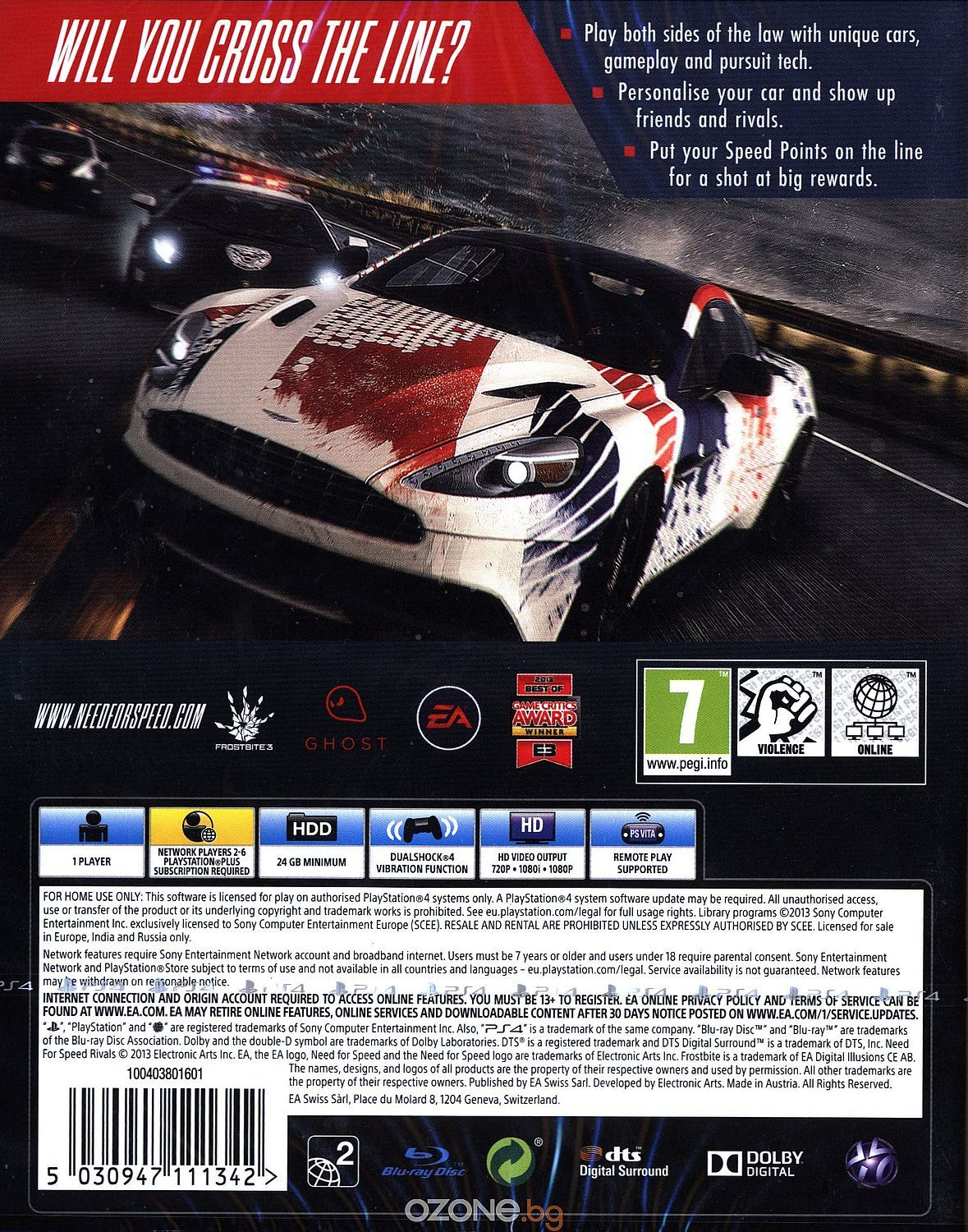 Need for Speed: Rivals (PS4) - 4