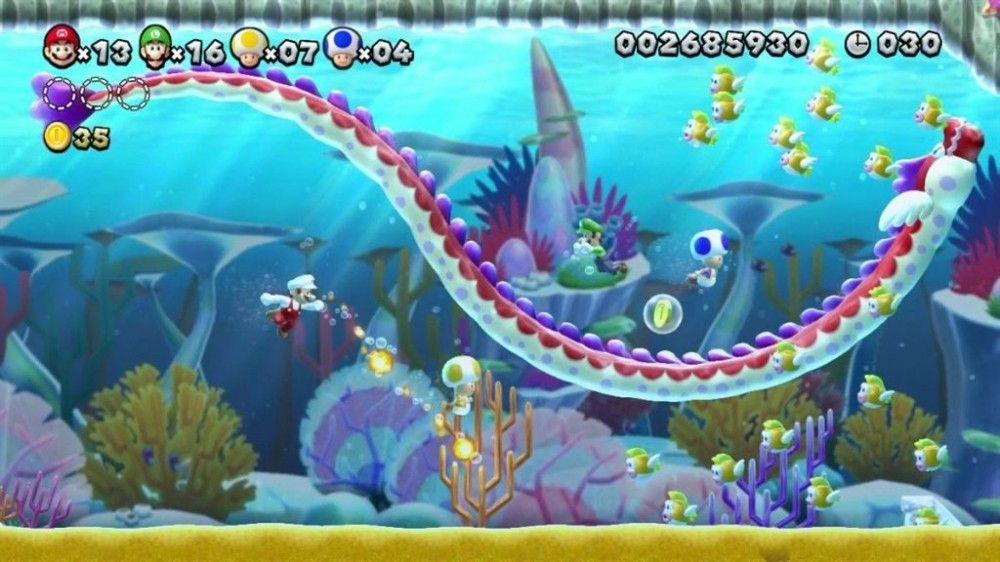 New Super Mario Bros. + New Super Luigi Bros. (Wii U) - 5