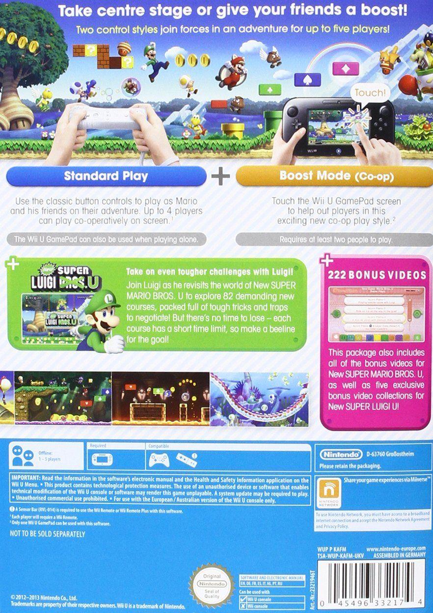 New Super Mario Bros. + New Super Luigi Bros. (Wii U) - 4