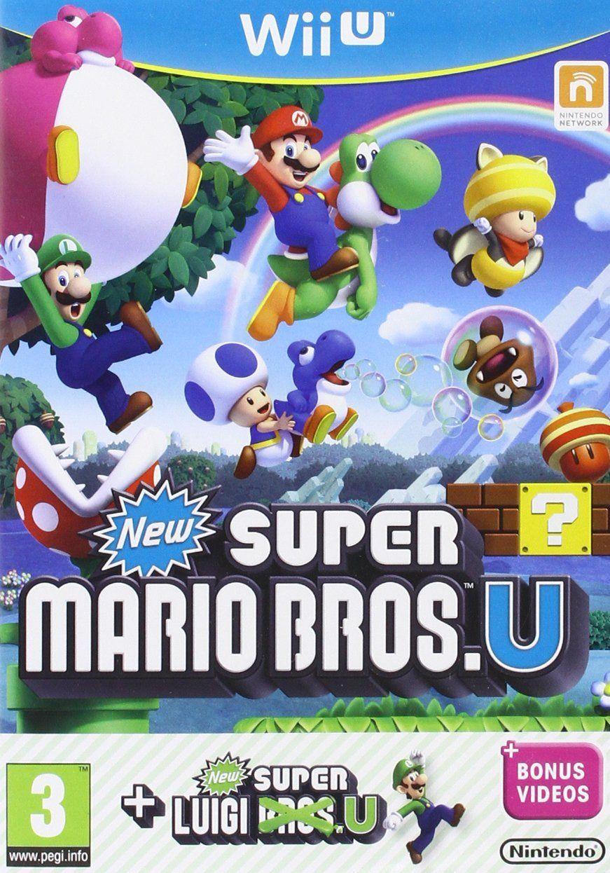 New Super Mario Bros. + New Super Luigi Bros. (Wii U) - 1