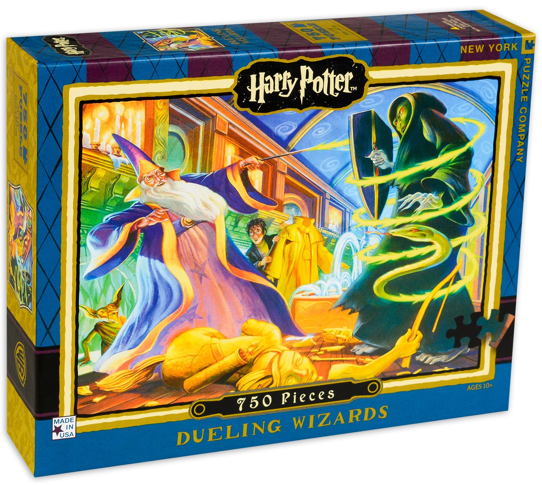 Пъзел New York Puzzle от 750 части - Дуелиране на магьосници - 2