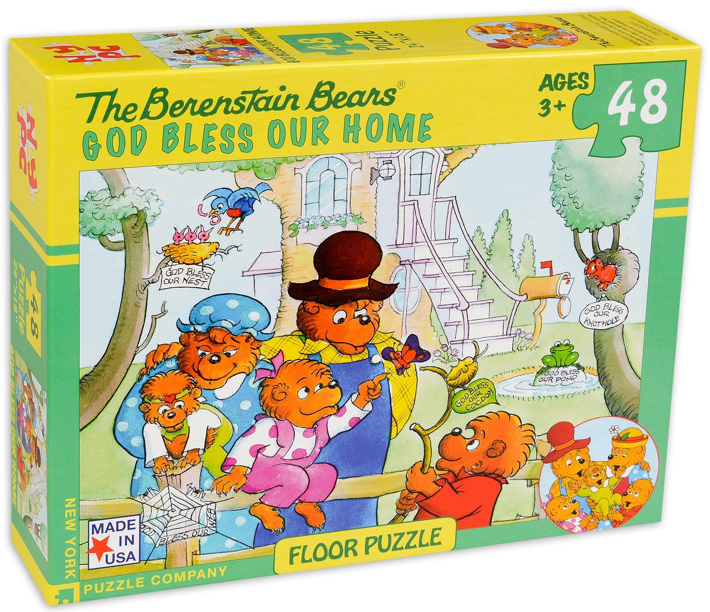 Пъзел New York Puzzle от 48 части - Благословен да е нашия дом - 2