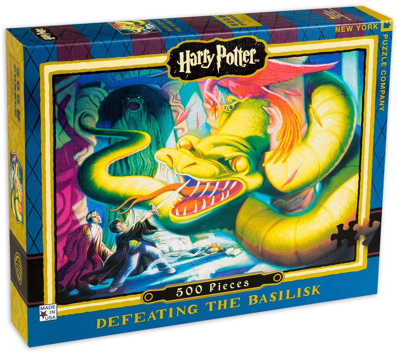 Пъзел New York Puzzle от 500 части - Defeating the Basilisk - 2