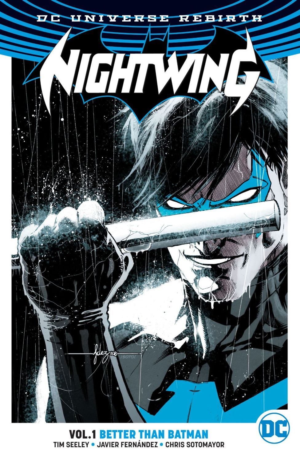 Nightwing Vol. 1: Better Than Batman (DC Universe Rebirth) - 1