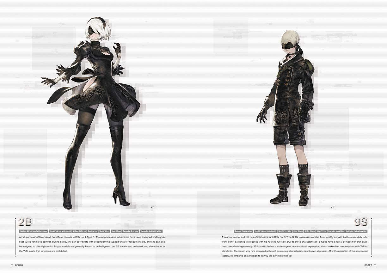 NieR: Automata - World Guide, Volume 1 - 4