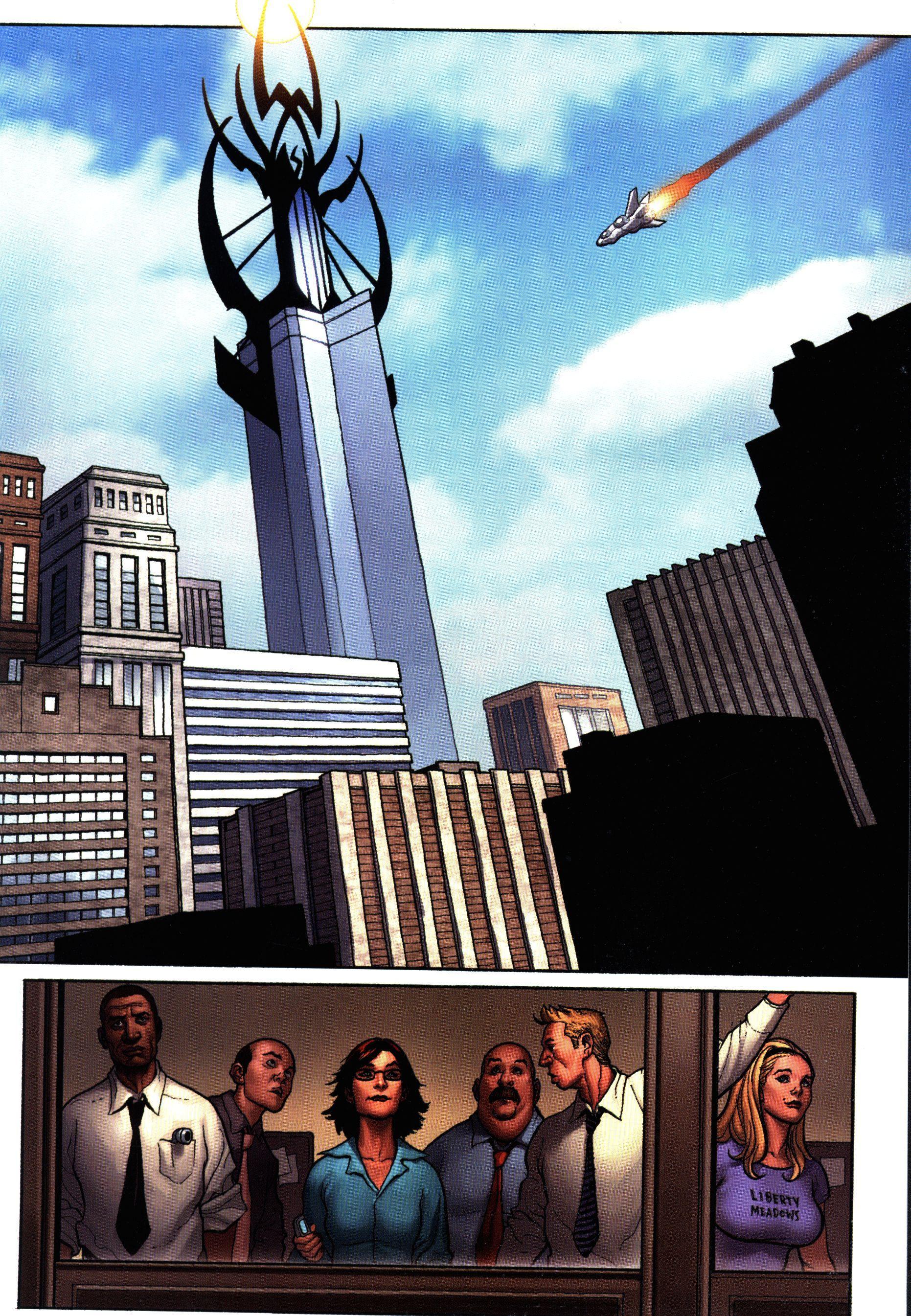 Новите Отмъстители (Брой 14 / Октомври 2007):  Хидра - част 1 - 4