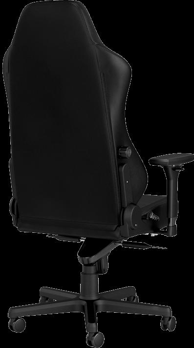 Гейминг стол noblechairs HERO - естествена кожа, черен - 4