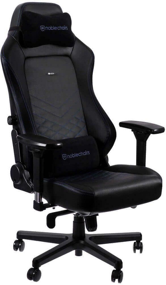 Гейминг стол noblechairs HERO - черен/син - 7