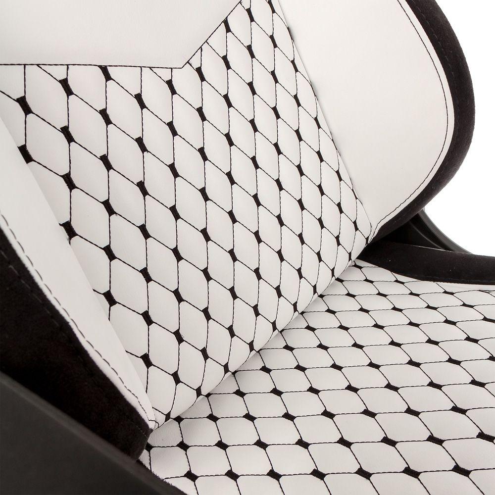 Гейминг стол noblechairs EPIC - бял/черен - 8