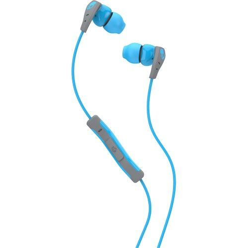 Слушалки с микрофон Skullcandy Method - сини/сиви - 1