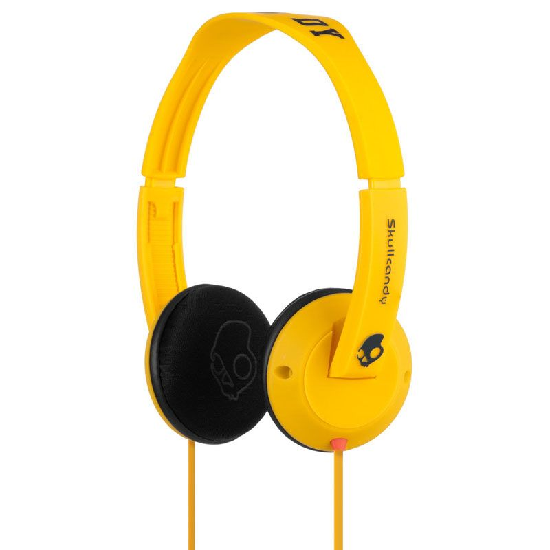 Слушалки Skullcandy Uprock - жълти - 1