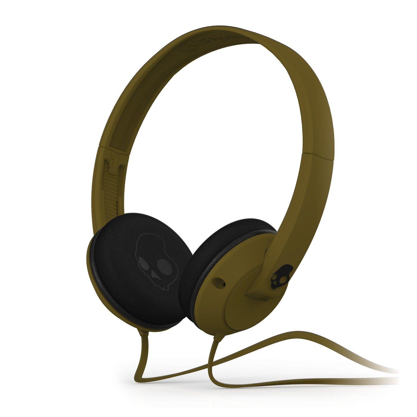 Слушалки с микрофон Skullcandy Uprock - кафяви - 1