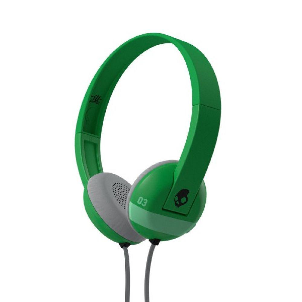 Слушалки Skullcandy Uproar - зелени - 1