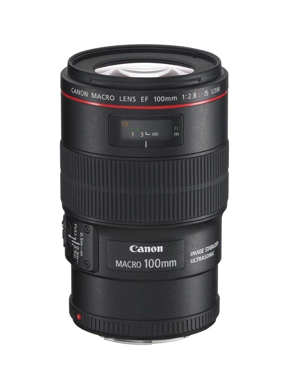 Обектив Canon EF 100mm f/2.8L Macro IS USM - 1