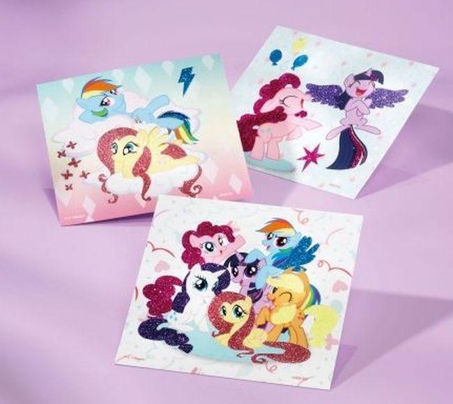 Творчески комплект Totum My Little Pony - Оцвети сам картинките - 2