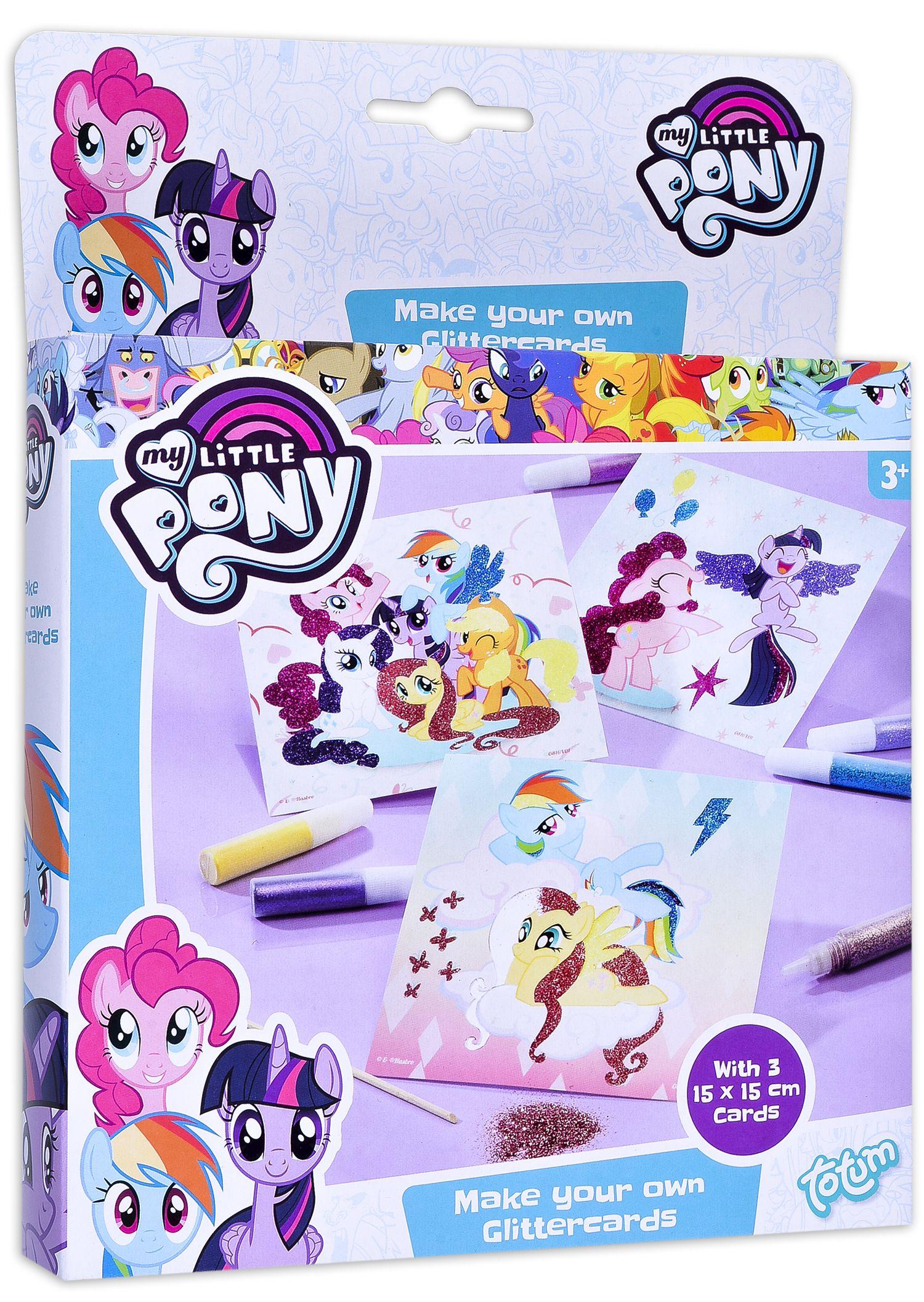 Творчески комплект Totum My Little Pony - Оцвети сам картинките - 1
