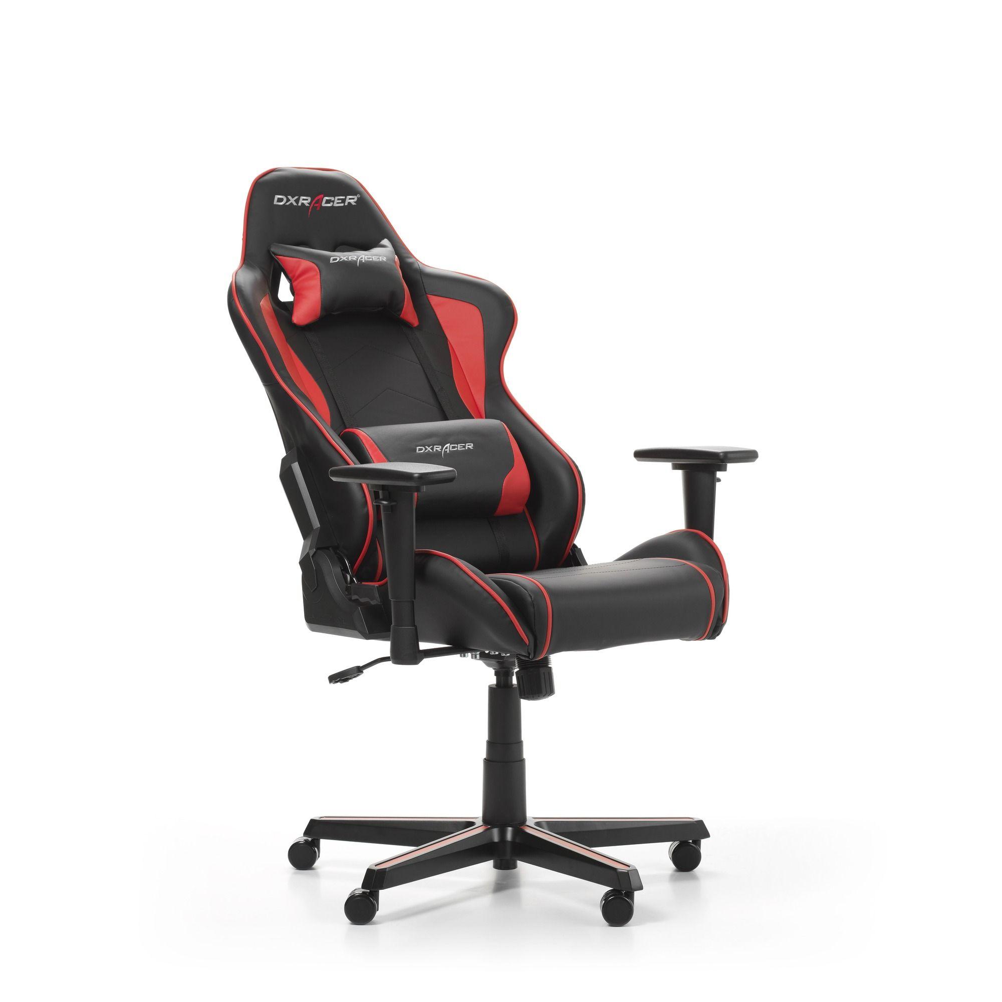 Гейминг стол DXRacer OH/FH08/NR - серия FORMULA, черен/червен - 2