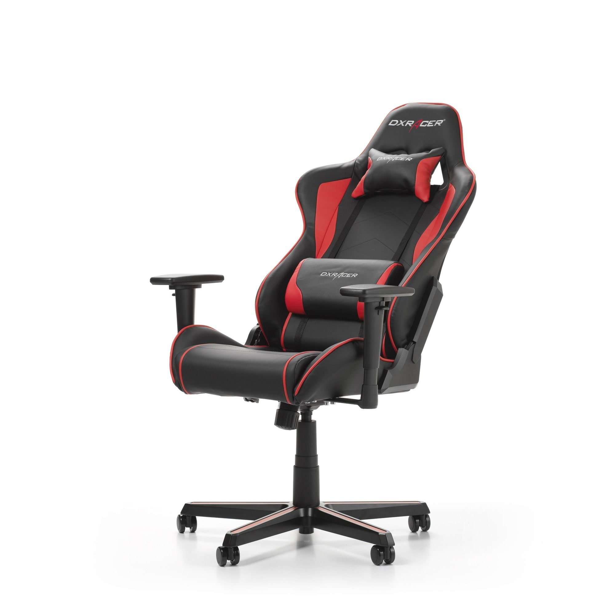 Гейминг стол DXRacer OH/FH08/NR - серия FORMULA, черен/червен - 4