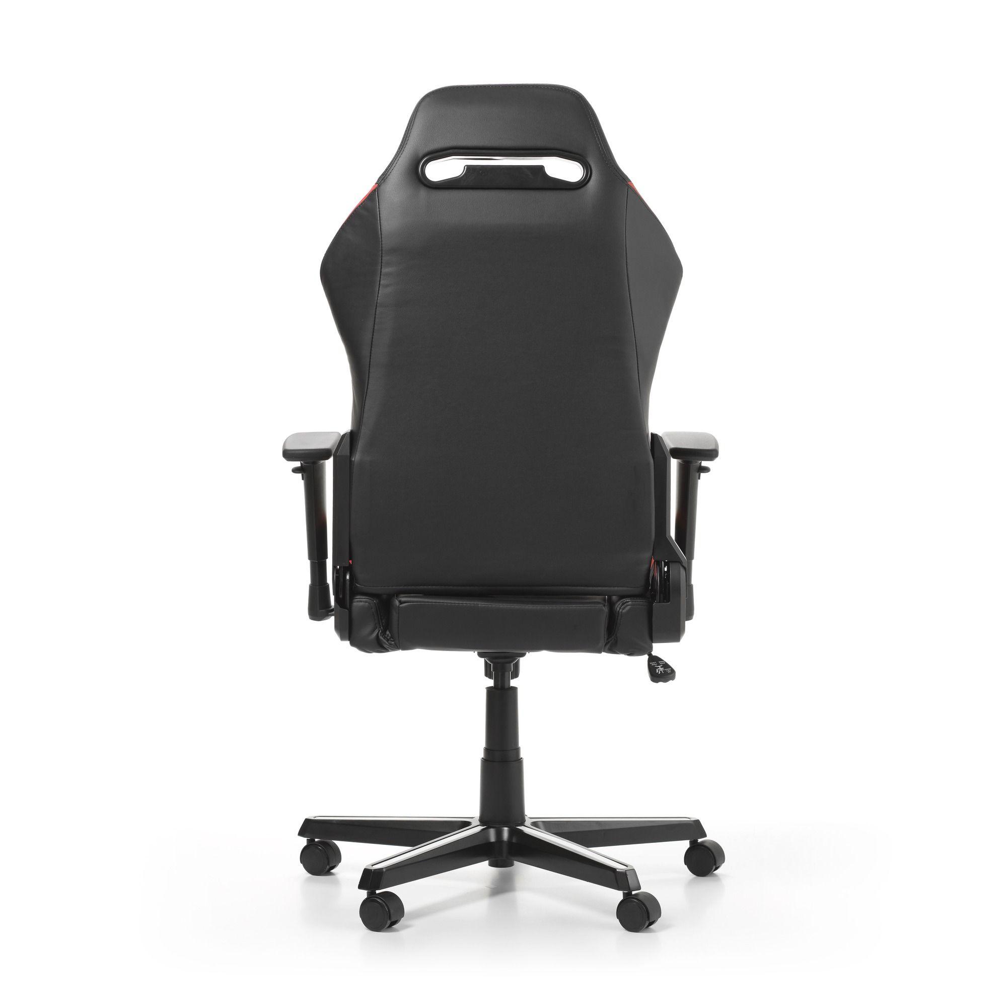 Геймърски стол DXRacer - серия DRIFTING, черен/бял/червен - OH/DM61/NWR - 12