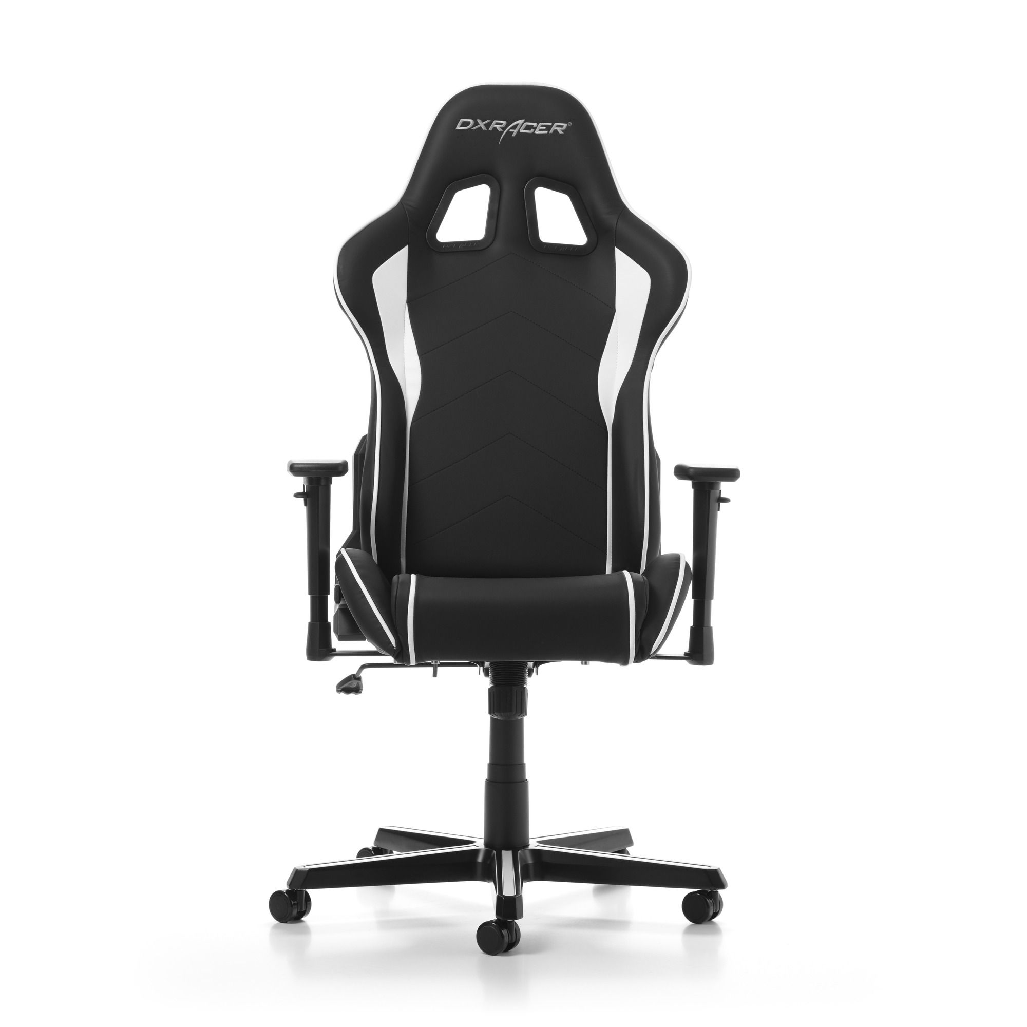 Гейминг стол DXRacer OH/FH08/NW - серия FORMULA, черен/бял - 7