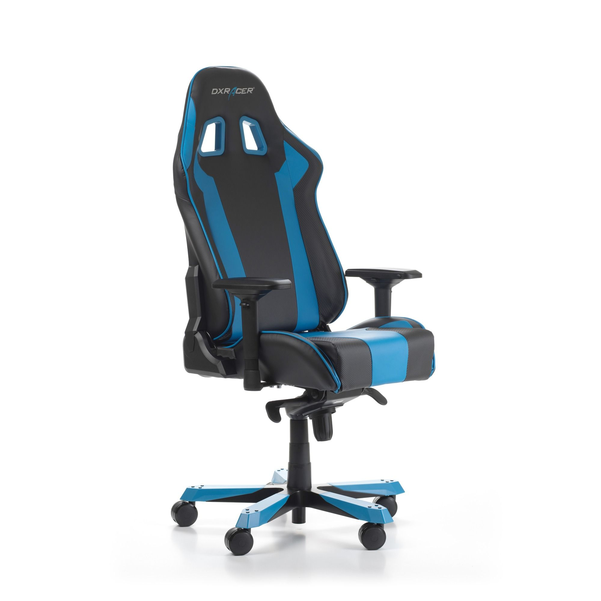 Геймърски стол DXRacer - серия KING, черен/син - OH/KS06/NB - 9