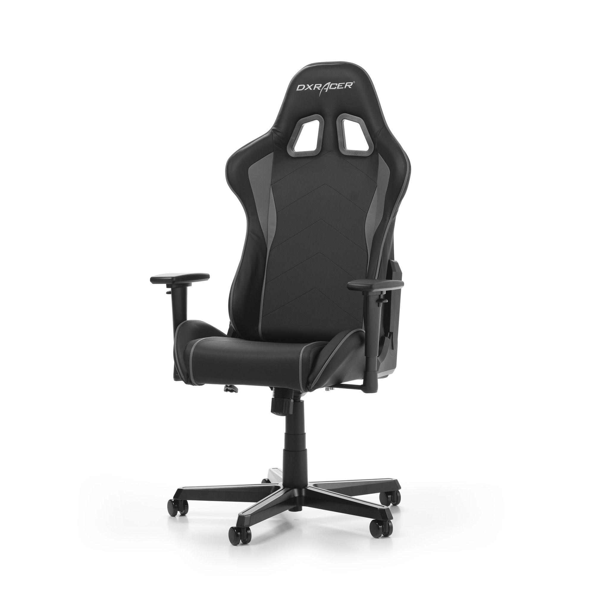 Геймърски стол DXRacer - серия FORMULA, черен/сив - OH/FH08/NG - 10