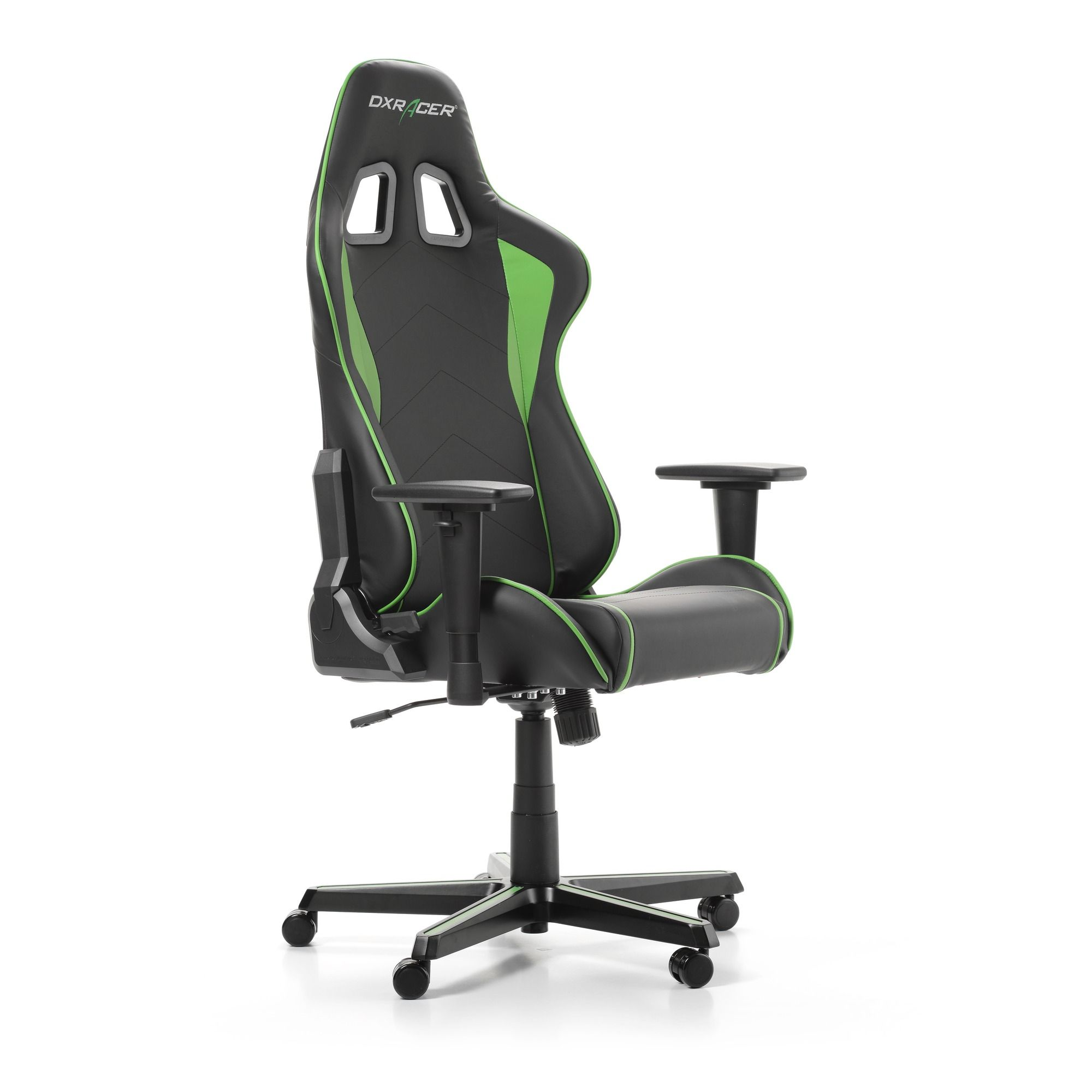 Геймърски стол DXRacer - серия FORMULA, черен/зелен - OH/FH08/NE - 9