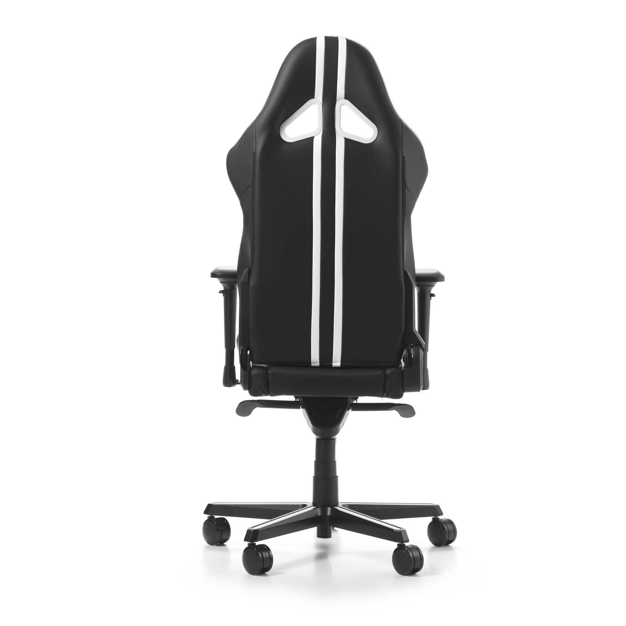 Гейминг стол DXRacer OH/RV131/NW - серия RACING V2, черен/бял - 11