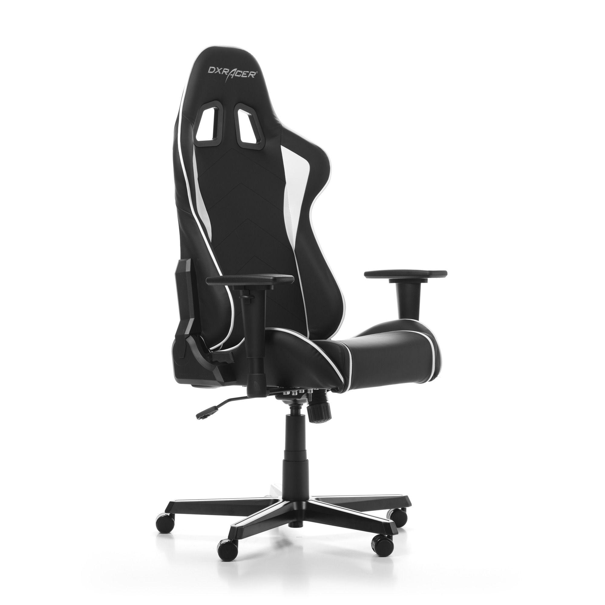 Гейминг стол DXRacer OH/FH08/NW - серия FORMULA, черен/бял - 9