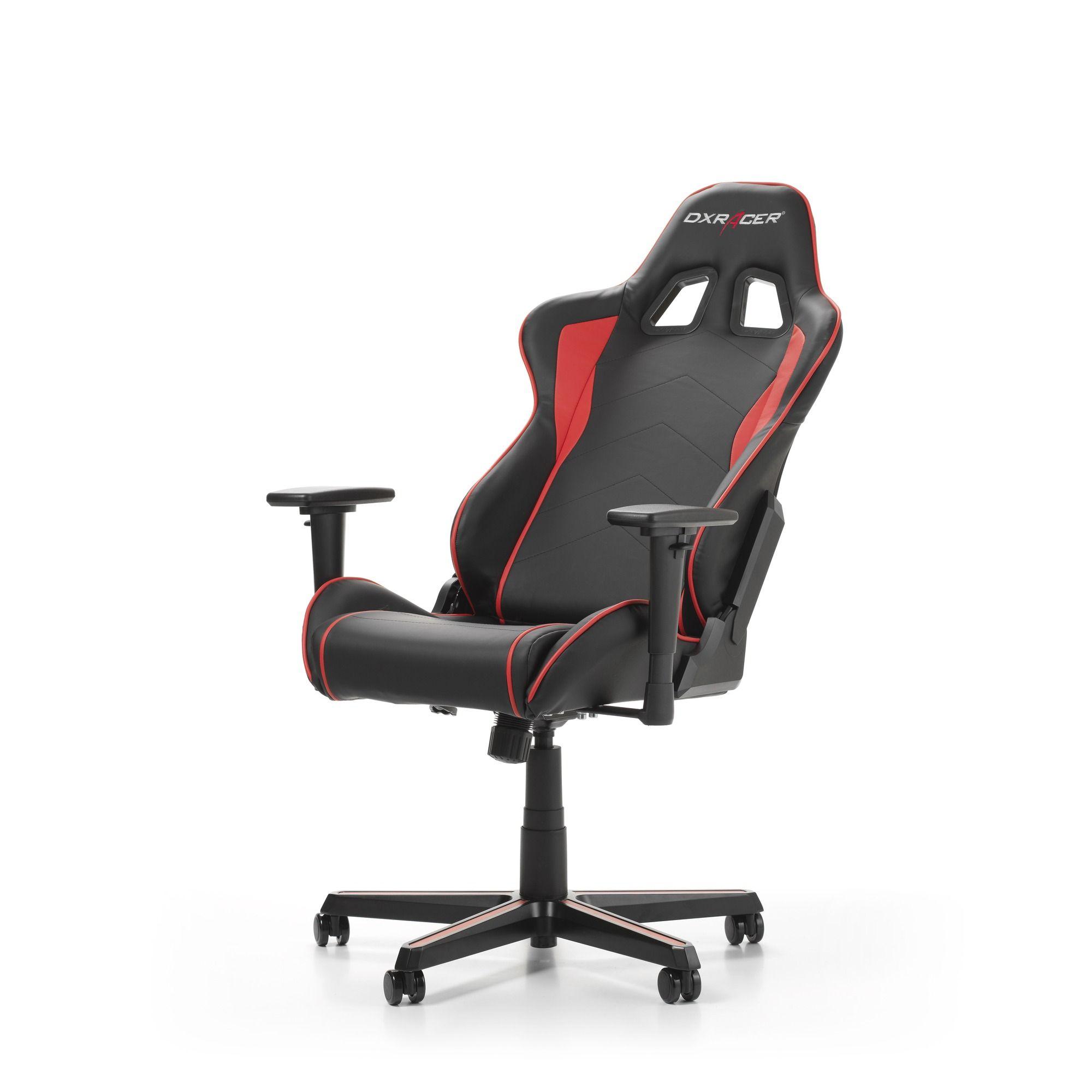 Гейминг стол DXRacer OH/FH08/NR - серия FORMULA, черен/червен - 6