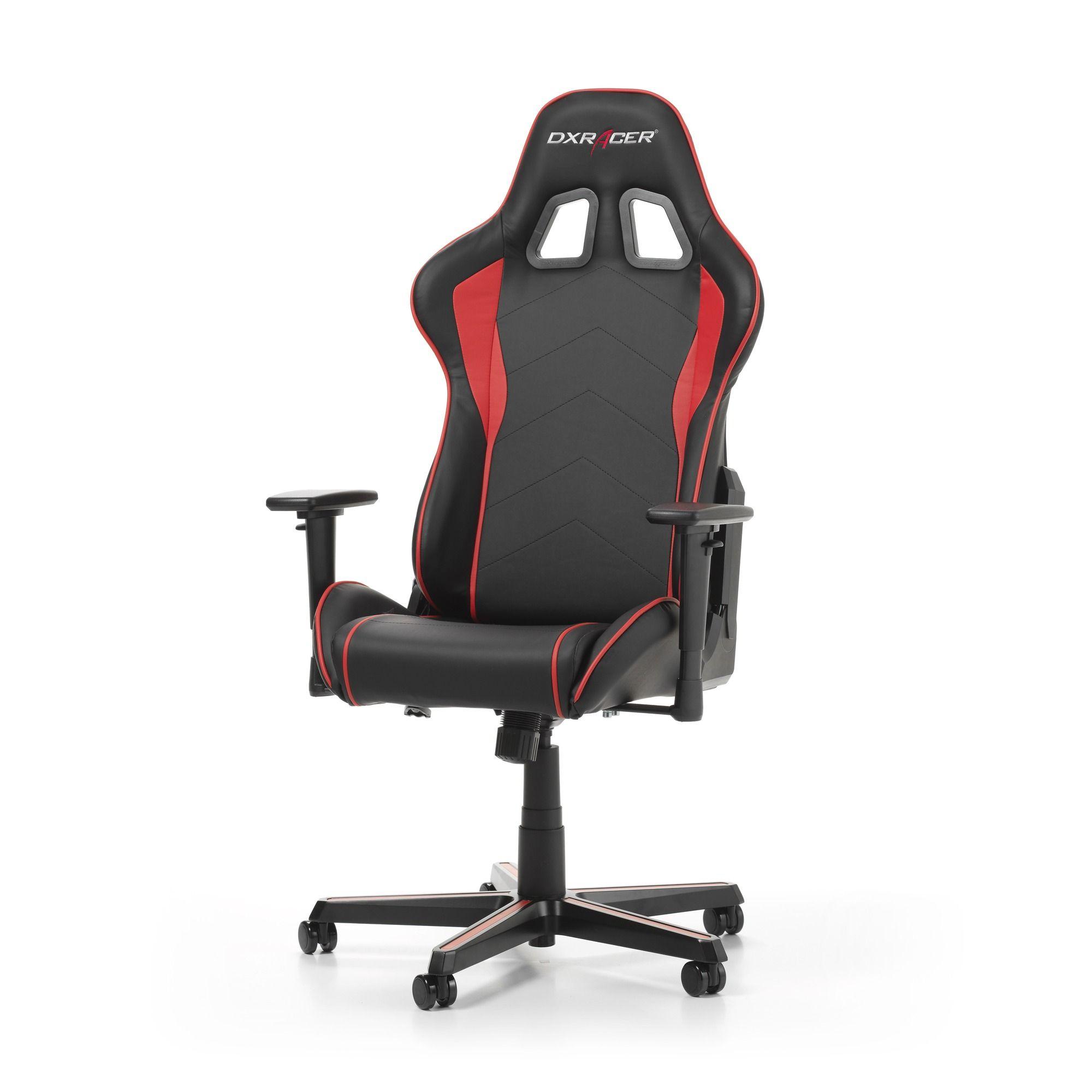 Гейминг стол DXRacer OH/FH08/NR - серия FORMULA, черен/червен - 10