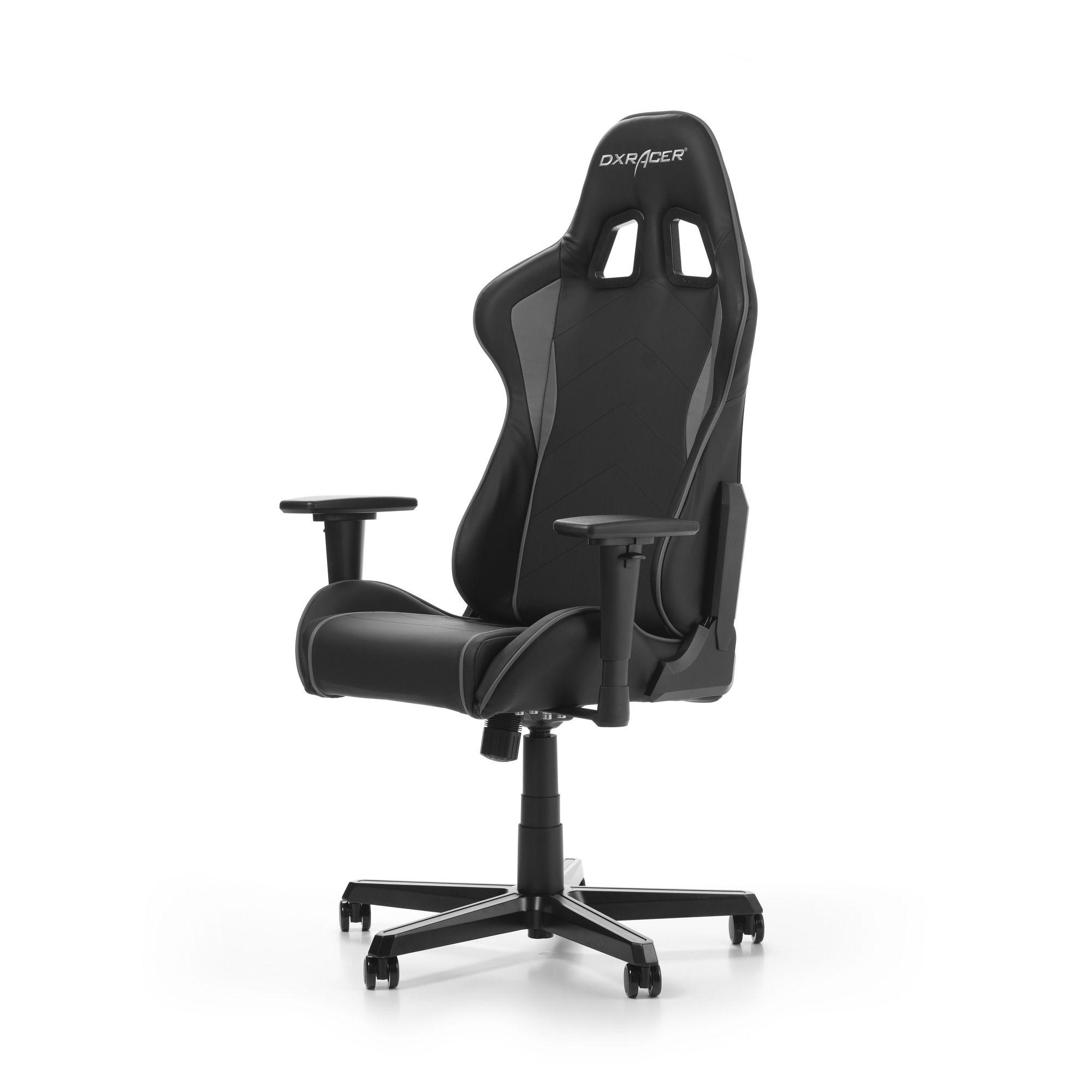 Геймърски стол DXRacer - серия FORMULA, черен/сив - OH/FH08/NG - 11