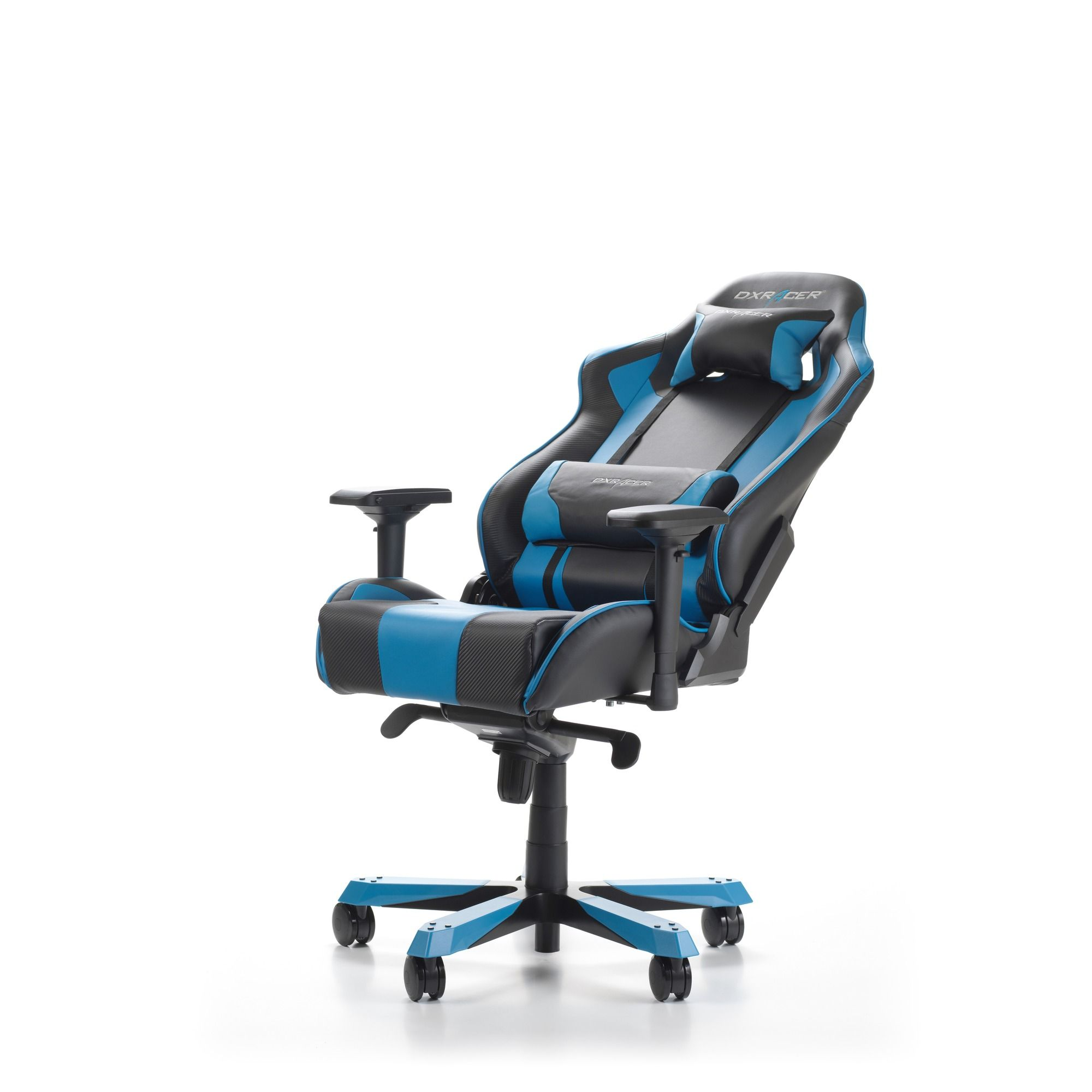 Геймърски стол DXRacer - серия KING, черен/син - OH/KS06/NB - 4