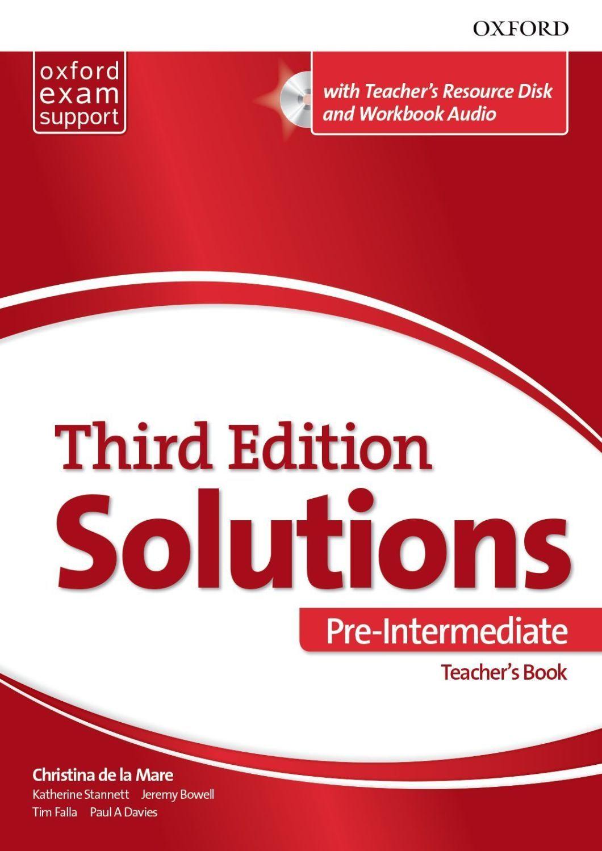 Комплект за учителя Solutions 3E Pre-Intermediate ESS TB & RES Disk Pack - 1
