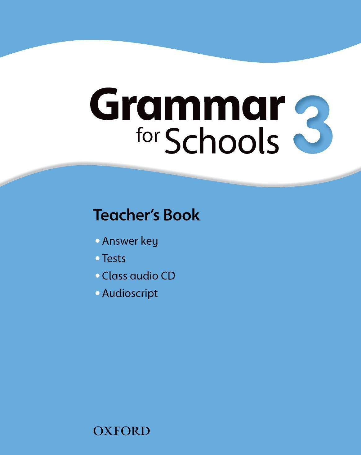 Oxford Grammar for Schools 3 Teacher's book & Audio - 1