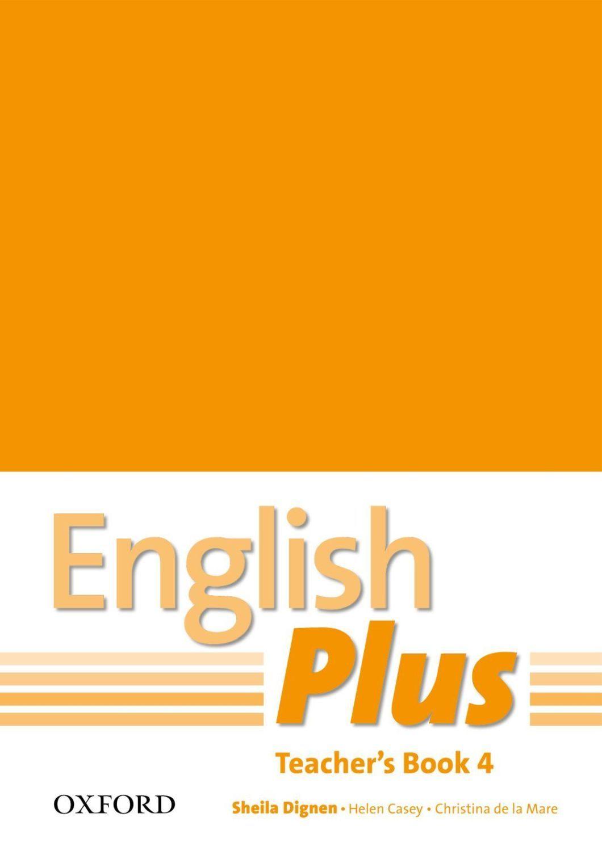 Книга за учителя English Plus 4 Teacher's Book - 1