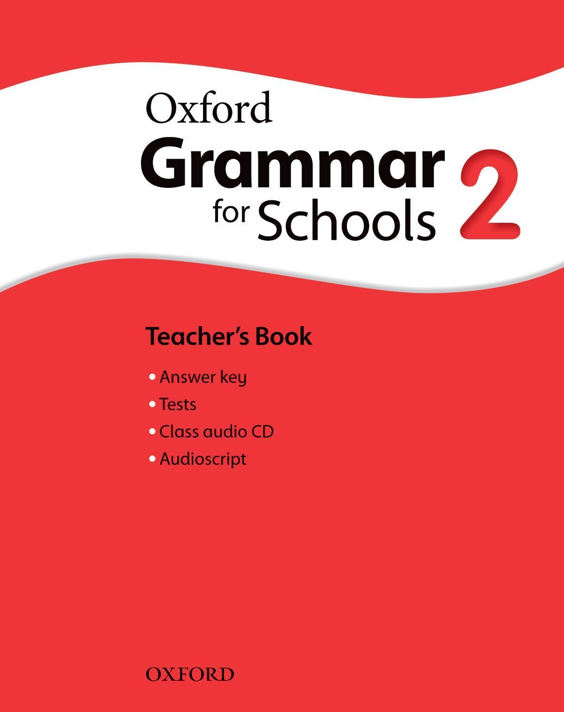 Oxford Grammar for Schools 2 Teacher's book & Audio - 1