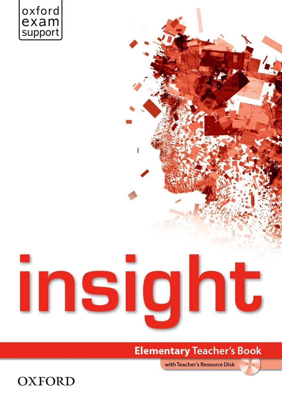 Insight Elementary Teacher's Book & DVD-ROM Pack - 1