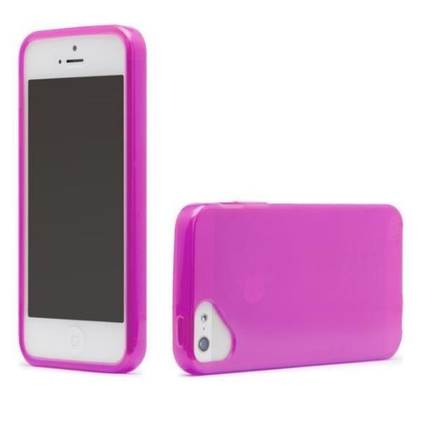 Olo Glacier Snap On TPU Case за iPhone 5 -  розов - 1