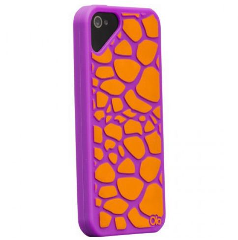 Olo Fashion Case Girrafe Purple за iPhone 5 - 1