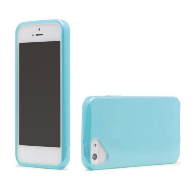 Olo Glacier Snap On TPU Case за iPhone 5 -  син - 1