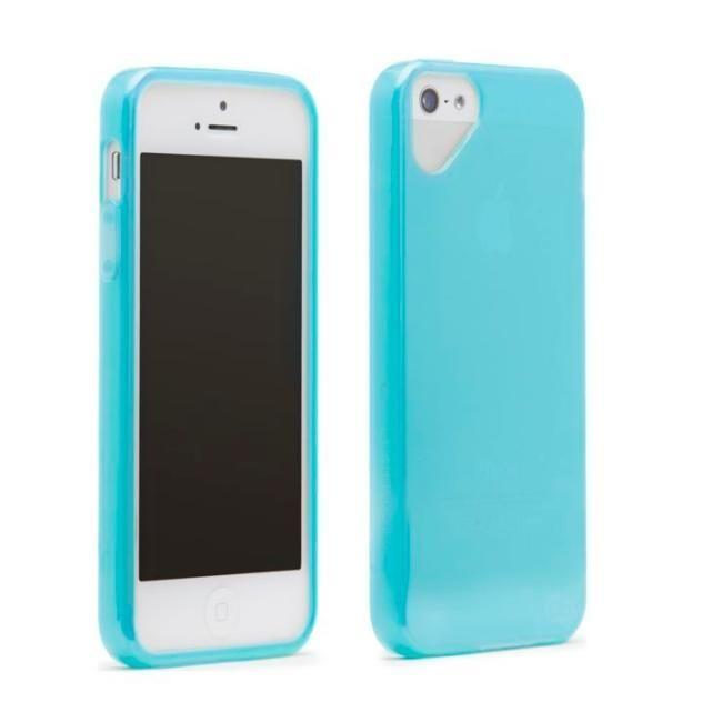 Olo Glacier Snap On TPU Case за iPhone 5 -  син - 3
