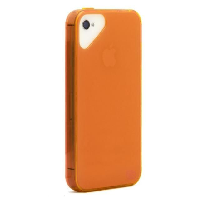 Olo Glacier Snap On TPU Case за iPhone 5 -  оранжев - 1