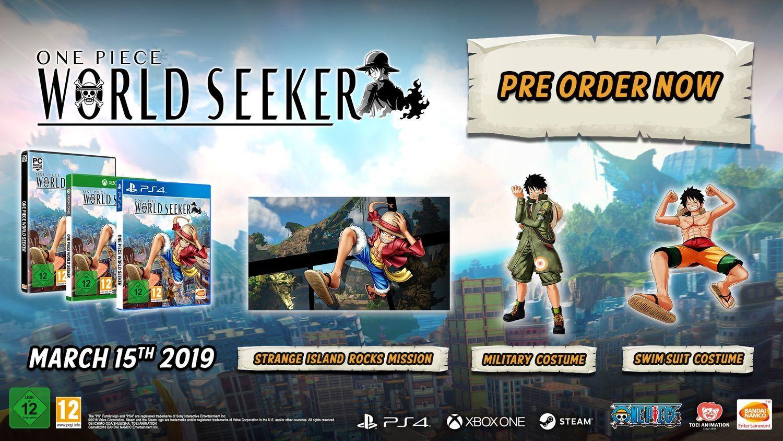 One Piece World Seeker (Xbox One) - 13