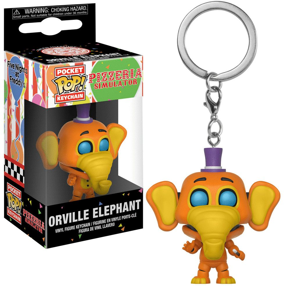 Ключодържател Funko Pocket Pop! Five Nights at Freddy's Pizza - Orville Elephant - 2