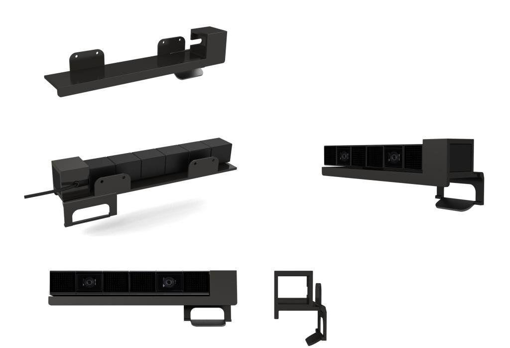 ORB Camera TV Clip/Wall Mount за PlayStation 4 - 2
