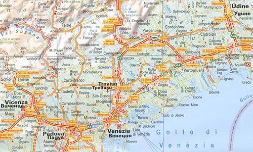 Ptna Karta Italiya 1 900 000 Ozone Bg