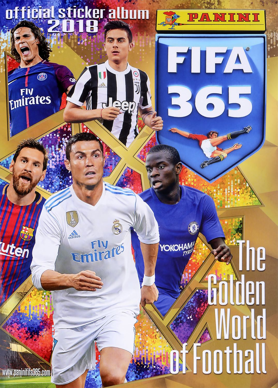 Стартов Пакет - Албум с 25 стикера Panini FIFA 365 - 2018 - 1
